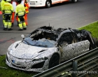 Acura NSX Prototype Destroyed In Fire