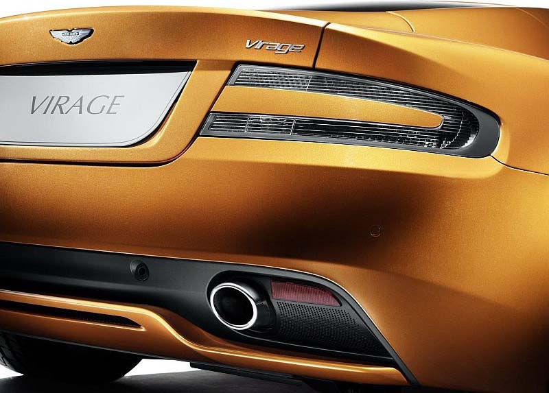 Aston Martin Virage Price in India Aston Martin Virage Taillight