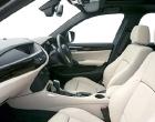 BMW X1 passanger seat interior