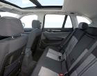 BMW X1 rear seats interior