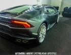 Lamborghini Huracan Mumbai Rearview