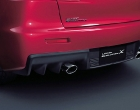 Mitsubishi Lancer EVO X exhaust pipe