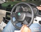 Skoda Fabia steering wheel