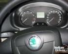 Skoda Fabia speedometer