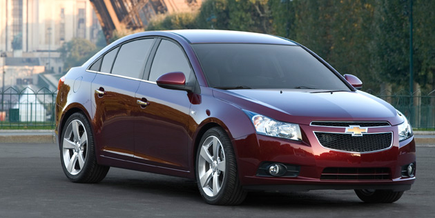 chevy cruze rs. be the Chevrolet Cruze