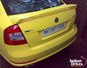 Skoda Laura back view