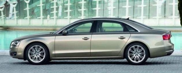 Audi A8 W12 in India