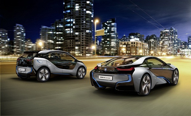 Bmw To Launch New Concept Electric Cars I8 And I3 In Two Years