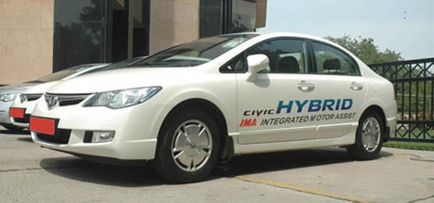 Honda Civic Hybrid in India