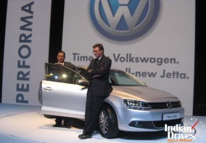 VW Jetta in India