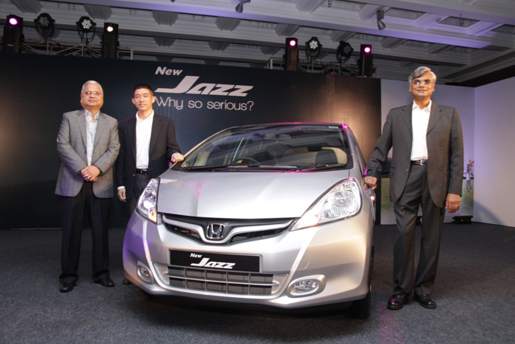 2011 Honda Jazz in India