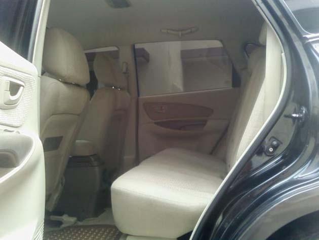 Hyundai Tucson seat