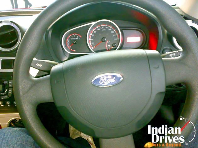Ford Figo TDCI interior