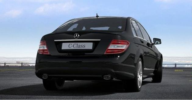 2011 Mercedes C-Class in India