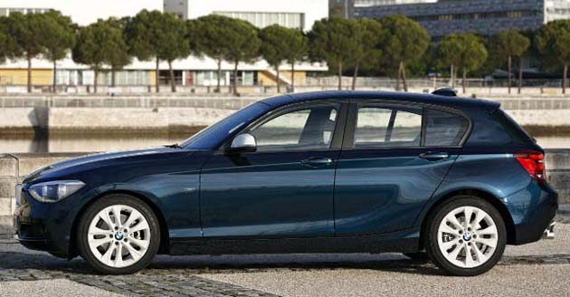 2012 BMW 1 series in India