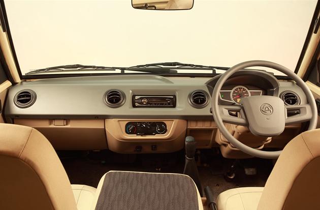 Ashok Leyland Dost interior