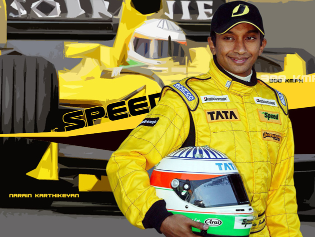HRT's Narain Karthikeyan eyeing points at Indian GP in October