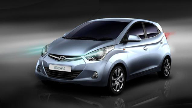 Hyundai Eon in India