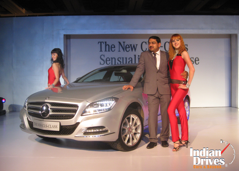 2011 Mercedes CLS class launched in India