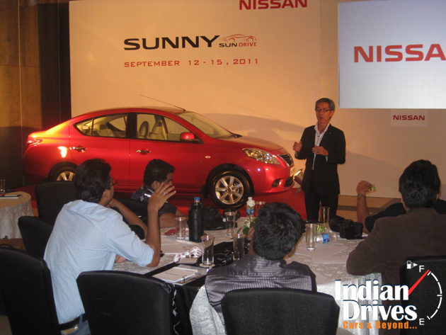 Nissan SunDrive event in India