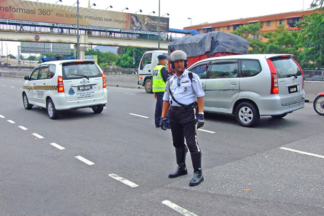 International traffic police