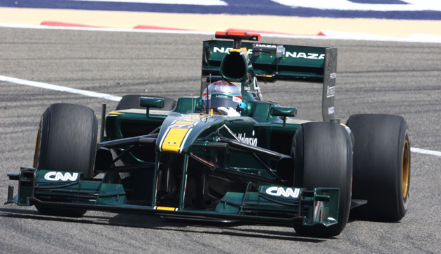 Jarno Trulli in F1 racing