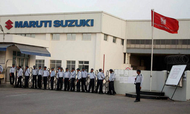 Maruti likely to have incurred a loss of Rs. 540 crores due to strikes