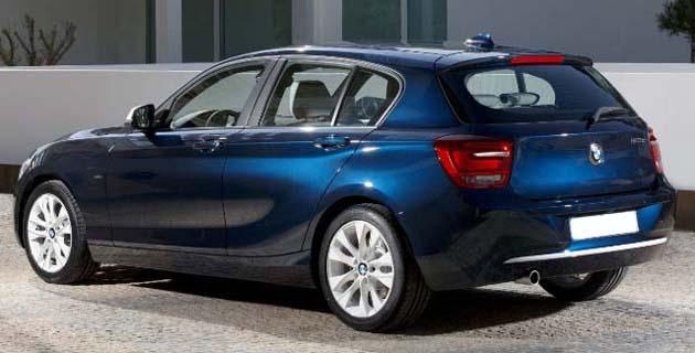 New BMW 1 series 2012
