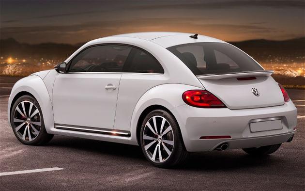 New Volkswagen Beetle 2012