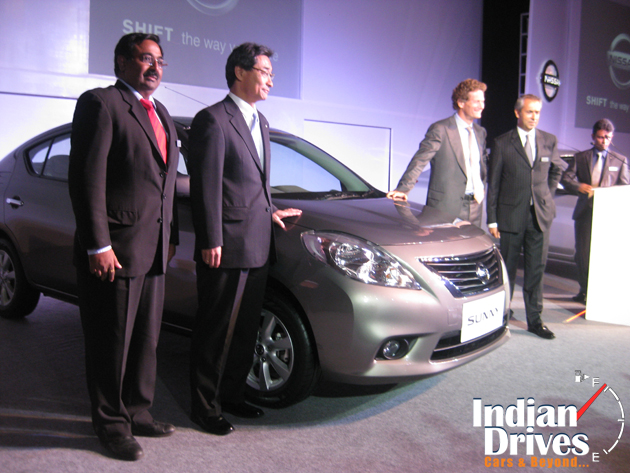 Nissan Sunny launched in India