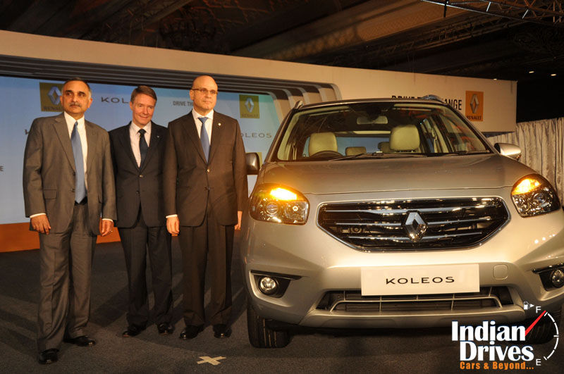 Renault Koleos SUV makes its debut in India