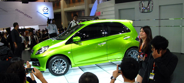 Safety next policy adopted by Honda on its small car Brio