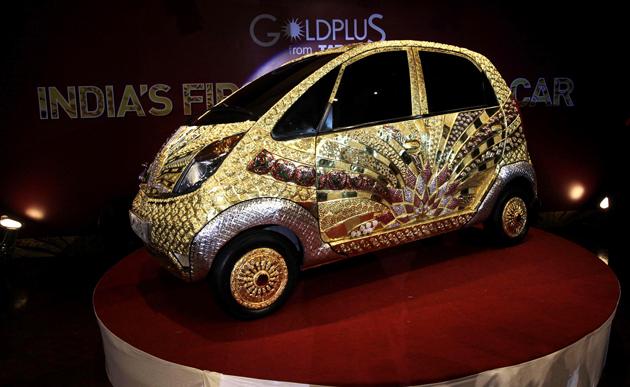 Tata Golden Nano in India