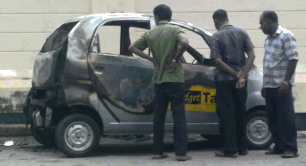 Tata Nano now fires in Colombo
