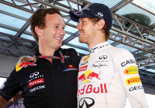 Team Principal Christian Horner Red Bull says Vettel's outsmarted his critics again