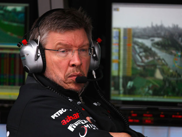 Team Principal Ross Brawn Mercedes GP aims for Championship in 2013 F1 season