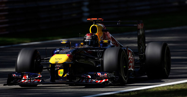 Vettel's victory at Monza