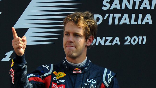 Vettel's 18th GP victory at Monza
