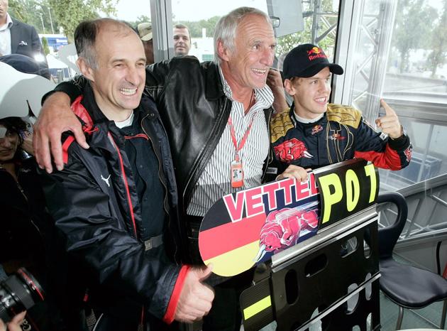 Vettel's success stuns Red Bull Team owner