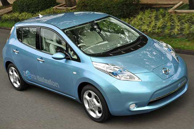 Nissan Leaf in India