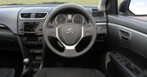 2011 Maruti Swift interior