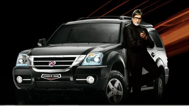 Amitabh Bachchan's first TVC with Force Motors shot