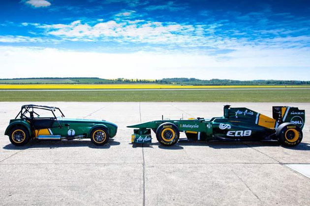 October 2011 will see Caterham in India