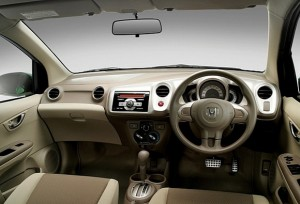 Honda Brio In India interior