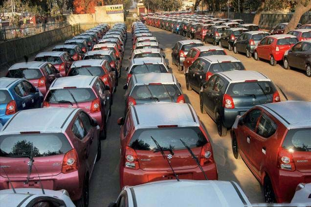 Despite the strike, Maruti has an output of 200 cars