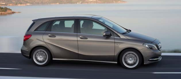 2012 Auto Expo may see the Mercedes B-class