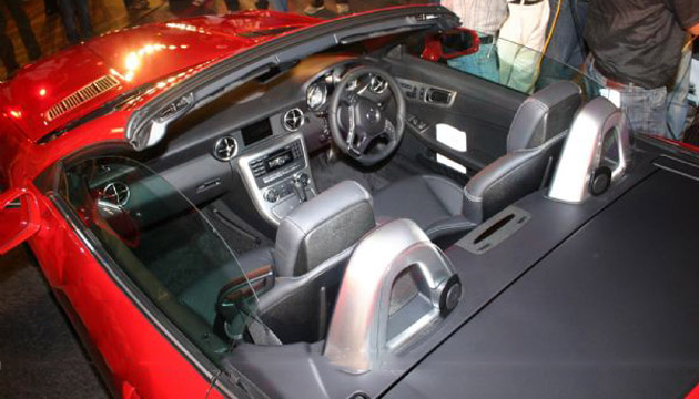 Mercedes SLK350 in India
