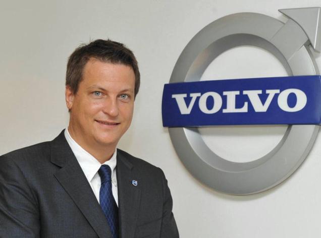 Mr Tomas Ernberg New MD for Volvo India