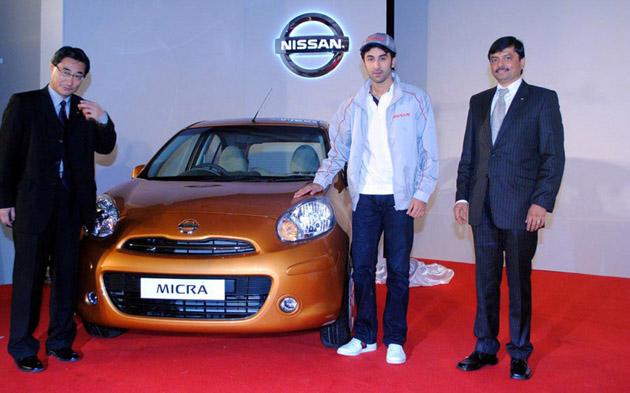 Ranbir Kapoor in Nissan Micra ad