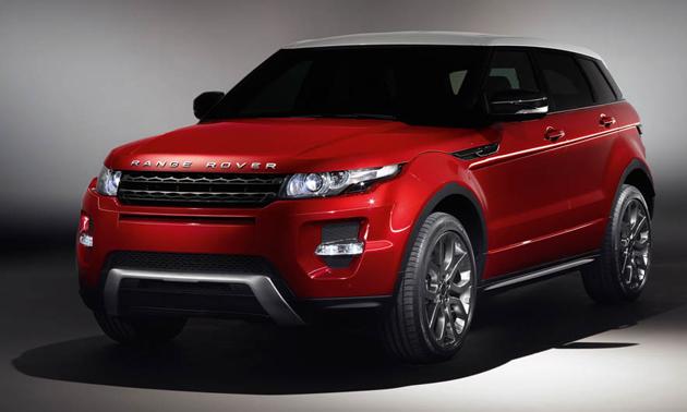 Range Rover Evoque in India